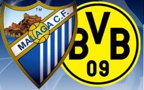 Málaga vs Borussia Dortmund: Cuartos de Final de la Champions League ...