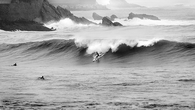 Surfing The Basque Country San Sebastian Zarautz