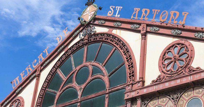 mercado Sant Antoni alquiler pisos turísticos