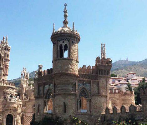 castillo benalmadena